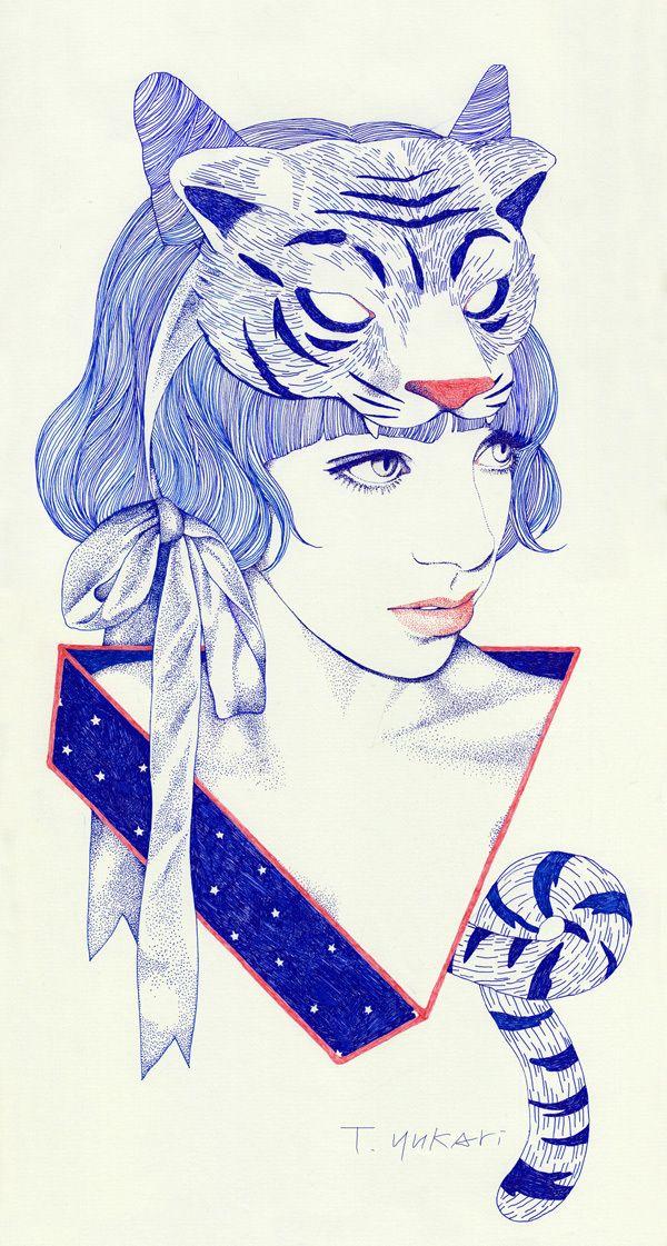 Tiger-girl ♥ by Yukari Terakado