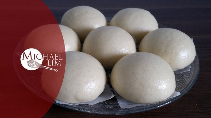 Chinese Steamed Buns (basic dough)