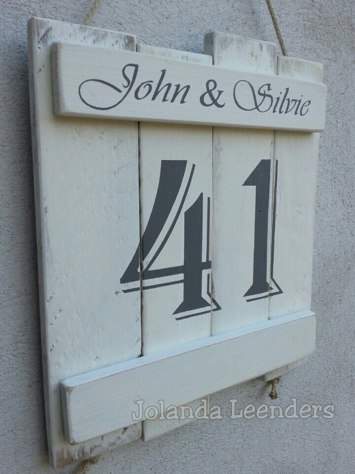 Naam/huisnummer.