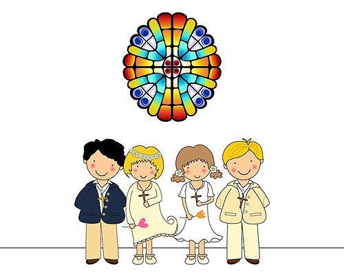 Coloriages pour la 1ère Communion