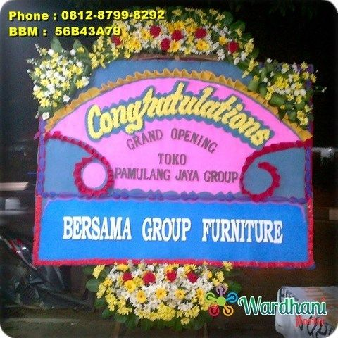 Bunga Papan Selamat Sukses SS761WF