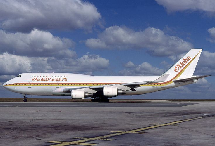 Aloha Airlines Boeing 747 400 Aviation Design Modified