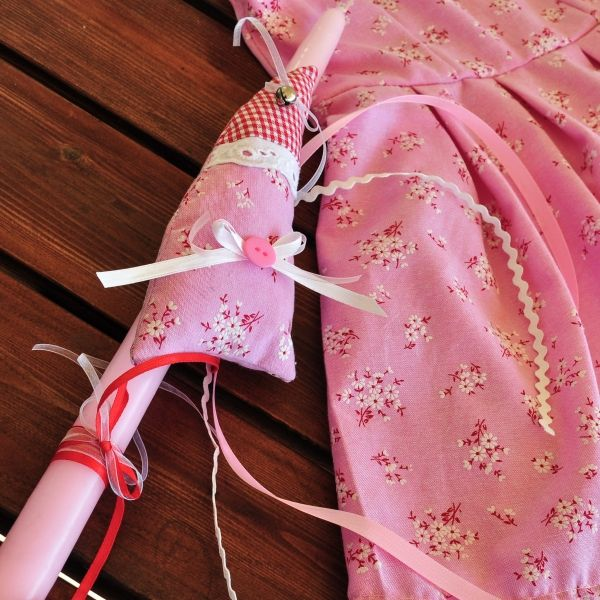 Φόρεμα και λαμπάδα για μικρές νεράιδες!