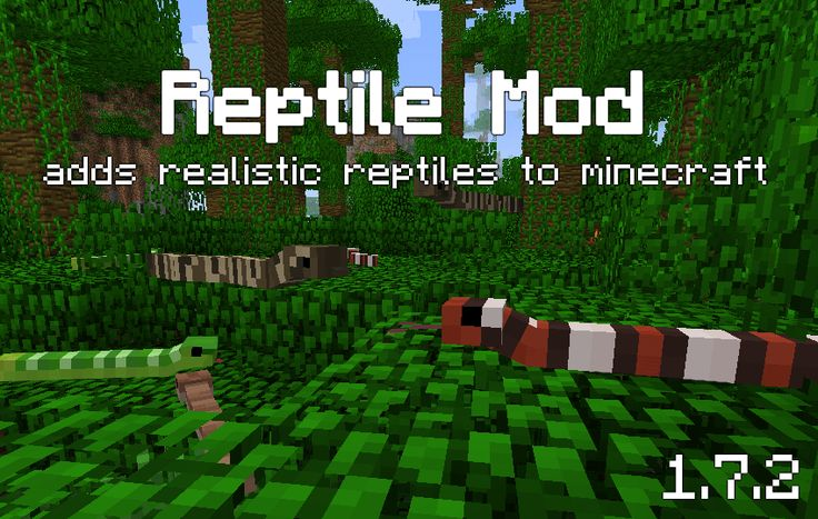 [MC 1.7.2] Reptile Mod v1.2, Turtles, Lizards, Crocodiles, Snakes and more [Forge] - Minecraft Mods - Mapping and Modding - Minecraft Forum - Minecraft Forum