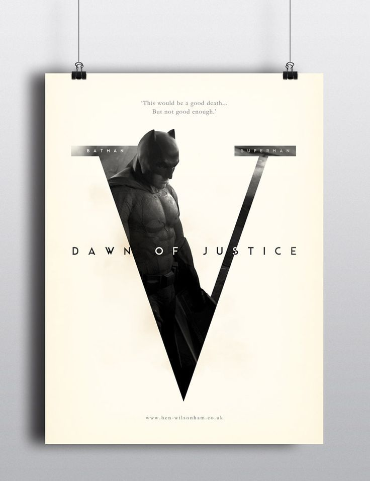 Batman v. Superman - Dawn of Justice by Ben Wilsonham // Inspiration for the EMRLD14 Team // www.emrld14.com