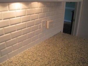 Cottage Lane Beveled Subway Tiles