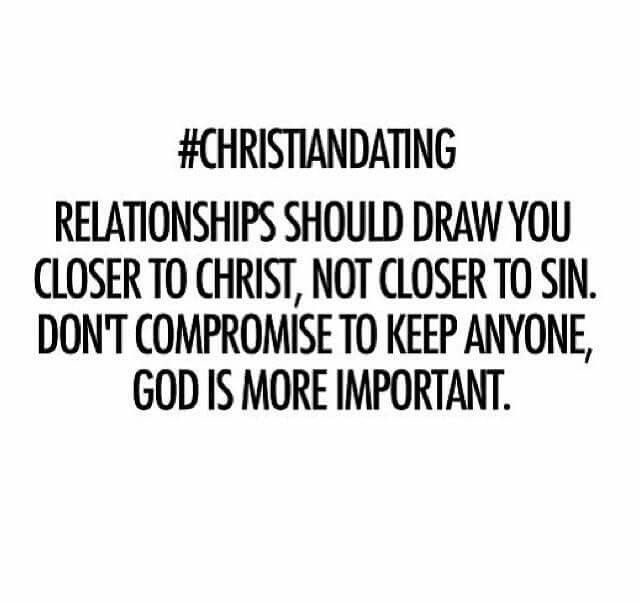 Basics of christian dating