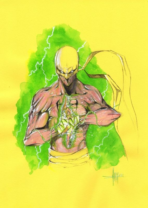 Iron Fist by Anthony Darr
