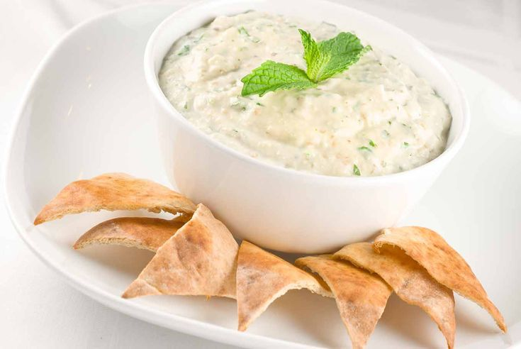 Easy to prepare eggplant raita is great served with toasted pita triangles, thin sliced baguette, even raw veggies.