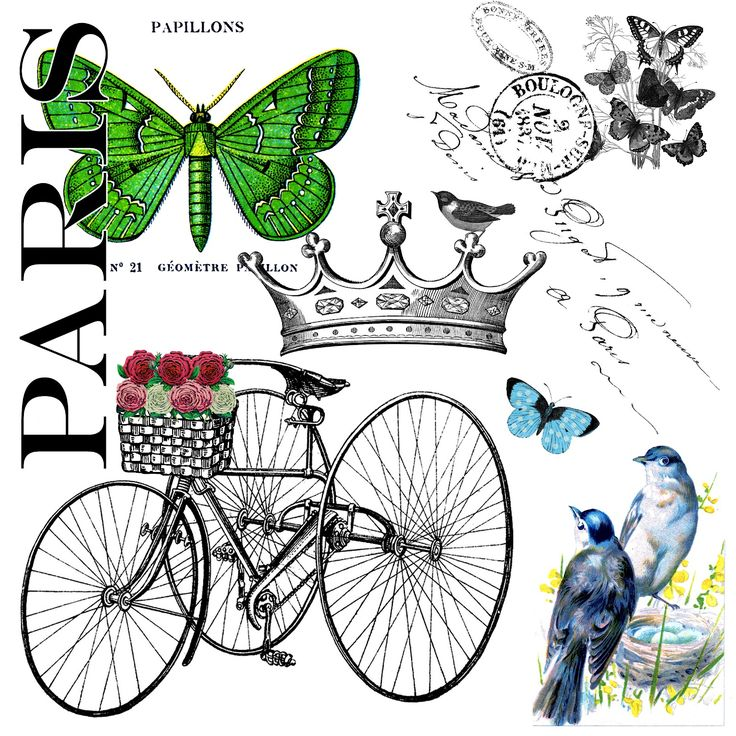 The Cottage Market: The Party Continues and a Paris Garden Free Graphic for you!