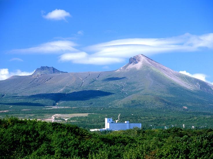 雄大な駒ヶ岳