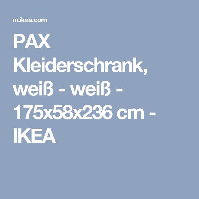 Ideal IKEA PAX Kleiderschrank cm Inklusive Jahre Garantie Mehr dar ber in der Garantiebrosch re Diese PAX KOMPLEMENT Kombination l sst sich nach Wunsch