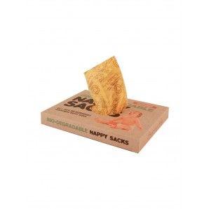 Environmentally friendly bio-degradable nappy sacks!