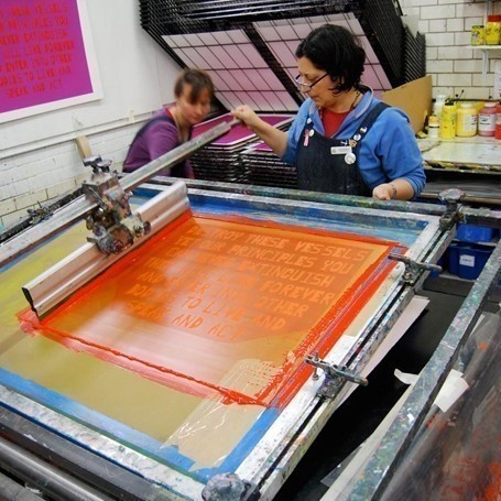 Course Details: Introduction Water Based Screenprinting at Edinburgh Printmakers
