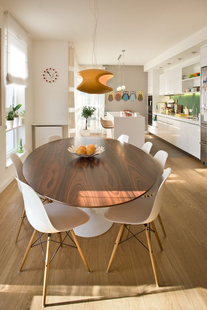 Contemporary Dining Room Table And Chairs Property best 25+ tulip table ideas on pinterest | dining area, round