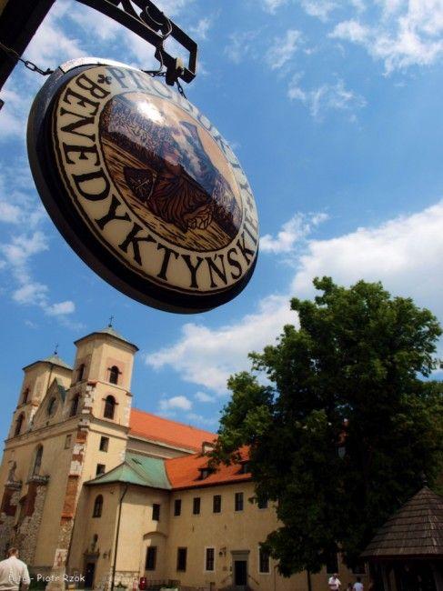 Cracow, Poland /  Kraków, Malopolska, Kraków - Opactwo Benedyktynów w Tyńcu, POLSKA