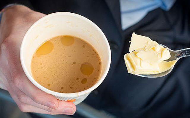 a vajas kávé jótékony
