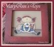 MaryAnn's Toys - My painting pattern, on sale on www.romanticherie.it