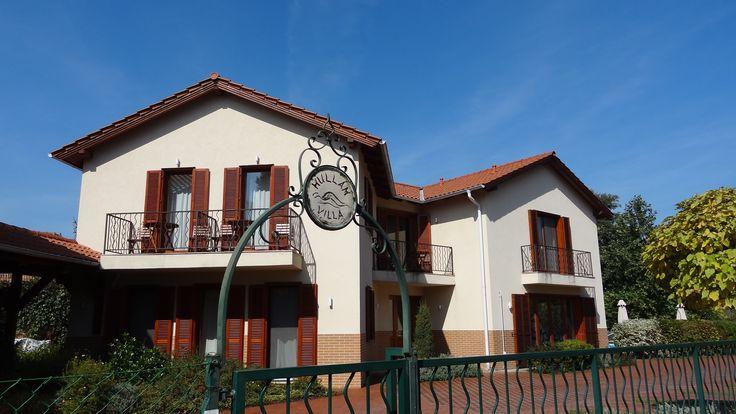 Yoga venue Hullam Villa at Lake Balaton Hungary