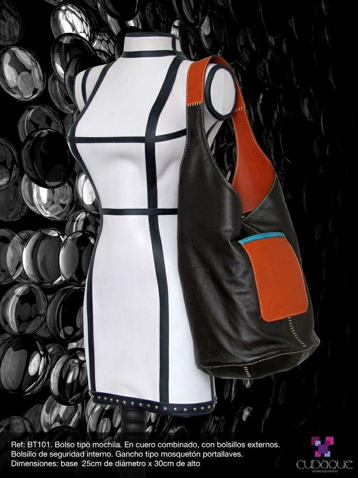 Mochila en cuero #handmade #bags #accesorios #hechoamano #leather #cuero #bolsos