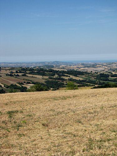View from Fratterosa - Pesaro e Urbino - Italy