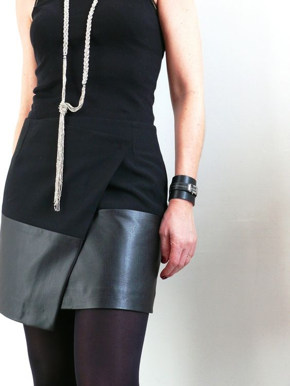 Asymmetric Wrap Skirt Tutorial                                                                                                                                                                                 More