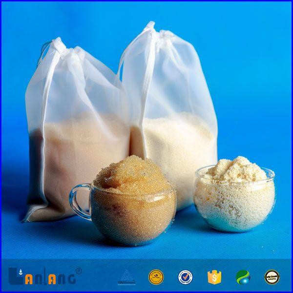 WQA certified strong acid food grade cation resin for espresso machine---contact information: Address: B-11-17, No.9, Xiaoqiang Road, Taiyuan, Shanxi, China   Tel:+86(0)351-3343081/3343082   Fax:+86-(0)351-3343281   sales@lanlangcorp.com.cn   http://lanlangcorp.en.alibaba.com  http://www.ionexchangeresin.cc   http://www.kangenwater.co