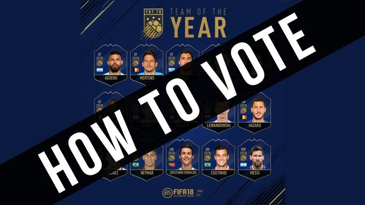 TOTY VOTING SYSTEM EXPLAINED - HOW TO VOTE