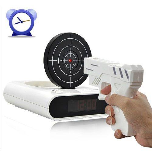 Unique Laser Gun Target Alarm Clock  http://www.banggood.com/Wholesale-New-Gun-Alarm-Clock-Cool-Tech-Gadget-Red-Led-Backlight-p-19925.html?utm_source=pinterest_medium=pinterest_direct_campaign=eletronics_content=Alessandra_design=, #hudsonvalley #video #marketing