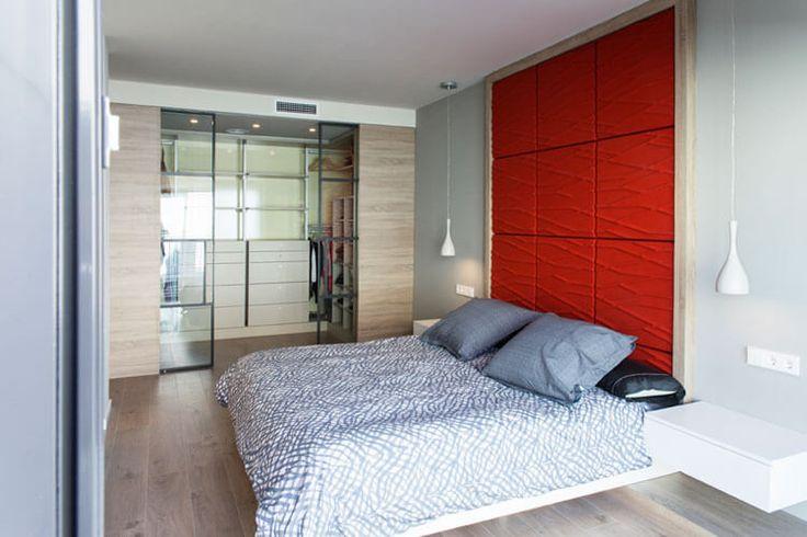 Dormitorio Suite. Dúplex en Sabadell, Barcelona