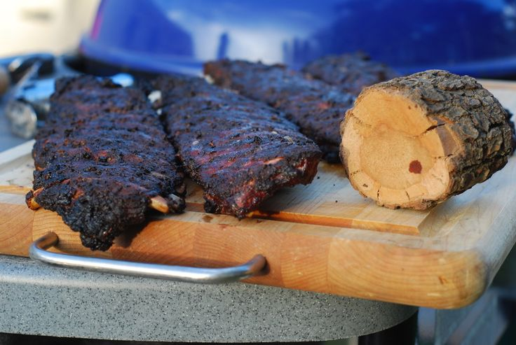 Ribs on the Weber Kettle Using the Grill-Roast Method - Grill Grrrl Blog: Grill Girl, Big Green Egg Recipes, Healthy Grilling Recipes, Tailg...