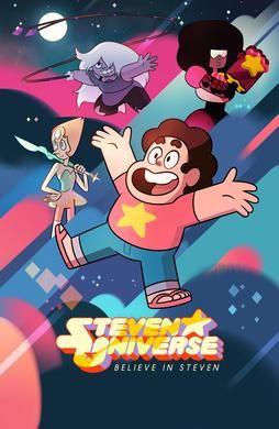Steven Universe. Cartel de la serie.