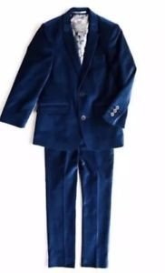 Appaman Boys Velvet Suit Blue 3T Easter Vacation wear special occasion  | eBay