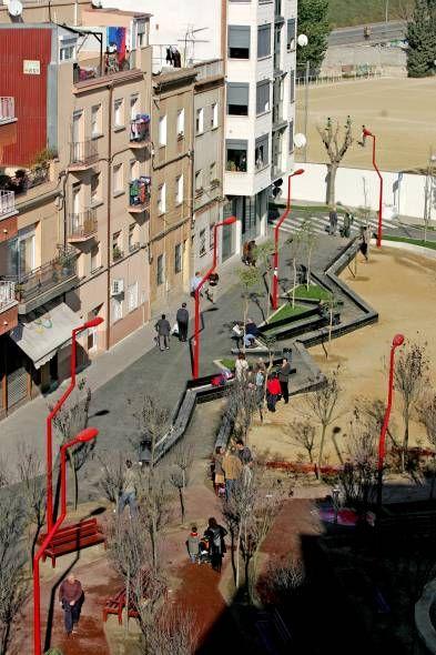PLAÇA NICARAGUA by FLORES & PRATS ARCHS, MONTCADA, BARCELONA, SPAIN, 2006