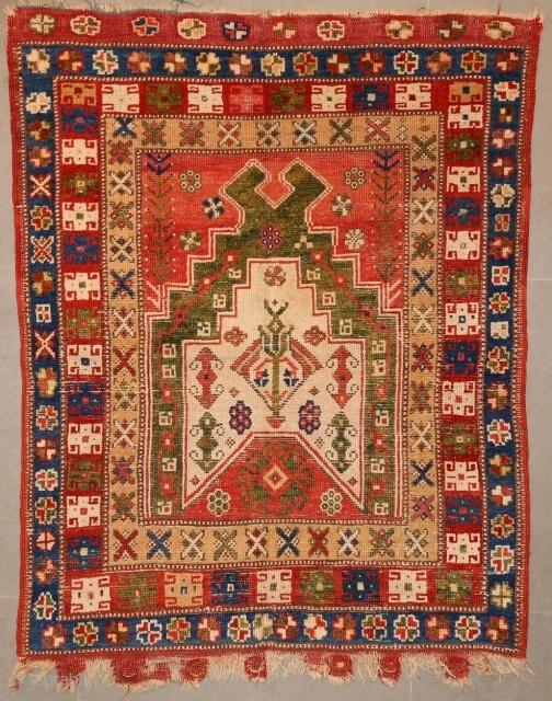 Anatolian Prayer Rug 120x02cm