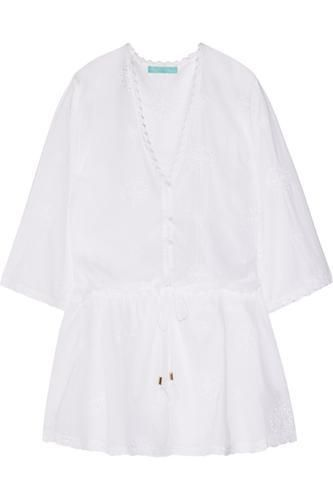 Cosima embroidered muslin dress #embroideddress #women #covetme #melissaodabash