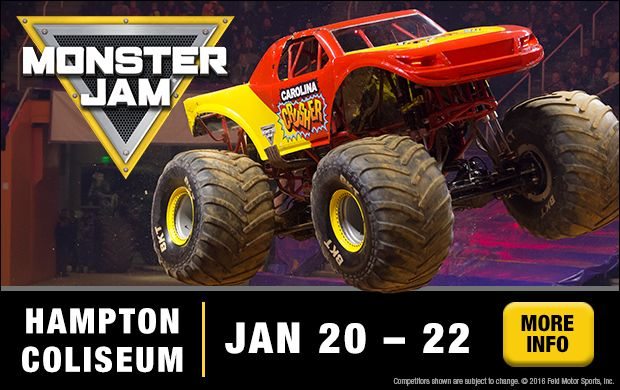 Giveaway! Tickets To Monster Jam!  Monster Jam is ROARING Back into Hampton Roads and we have tickets for one lucky MyActiveChild Family! http://hamptonroads.myactivechild.com/blog/giveaway-win-tickets-monsterjam/