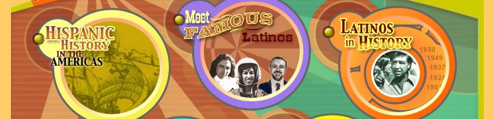 Hispanic History in the Americas, Meet Famous Latinos, Latinos in History