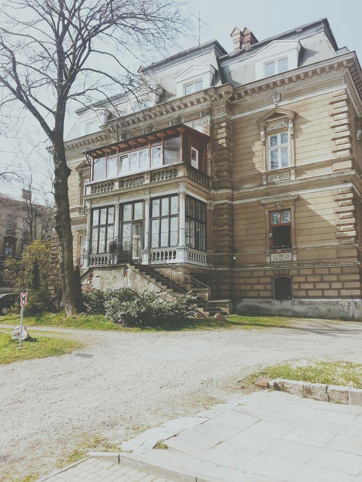 Early XX century villa, Krasińskiego Street, Bielsko-Biala, Poland
