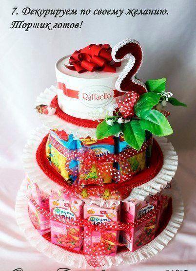 Изготовление тортика-угощения на выпускной в детский сад  / Новые дети
