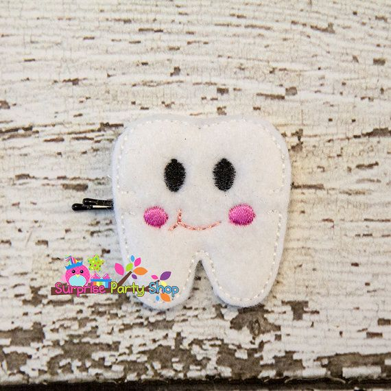Tooth Bobby Pin Buddie Hair Accessories by SurprisePartyShop