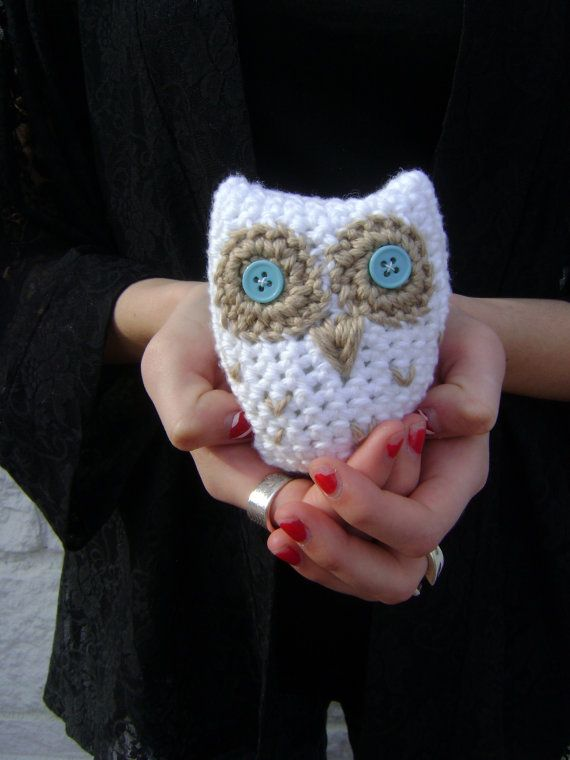 Free Crochet Pattern For Owl Toy : Crochet Hoot Owl Toy PATTERN - Great Party Favor for ...