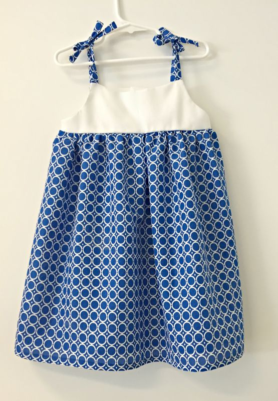 Free Pattern Sunny Day Toddler Dress 2T-4T