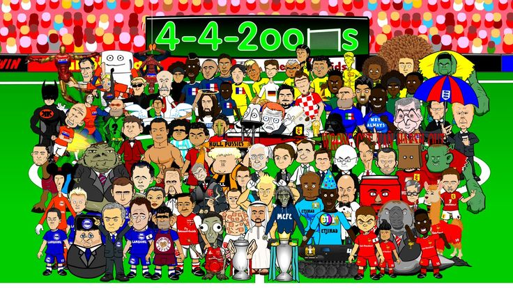 #... #20142015 #442oons; #by #cartoon; #champions #Comedy #EPL #football #league #LiverpoolF.C.(FootballTeam) #ManchesterUnitedF.C.(FootballTeam) #new #parody #premier #season #soccer #spoof; Premier League 2014/2015 NEW SEASON by 442oons (EPL football cartoon)