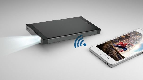 Sony Pico Mobile Projector with Wi-Fi or HDMI Connectivity & Laser Light Source #Sony