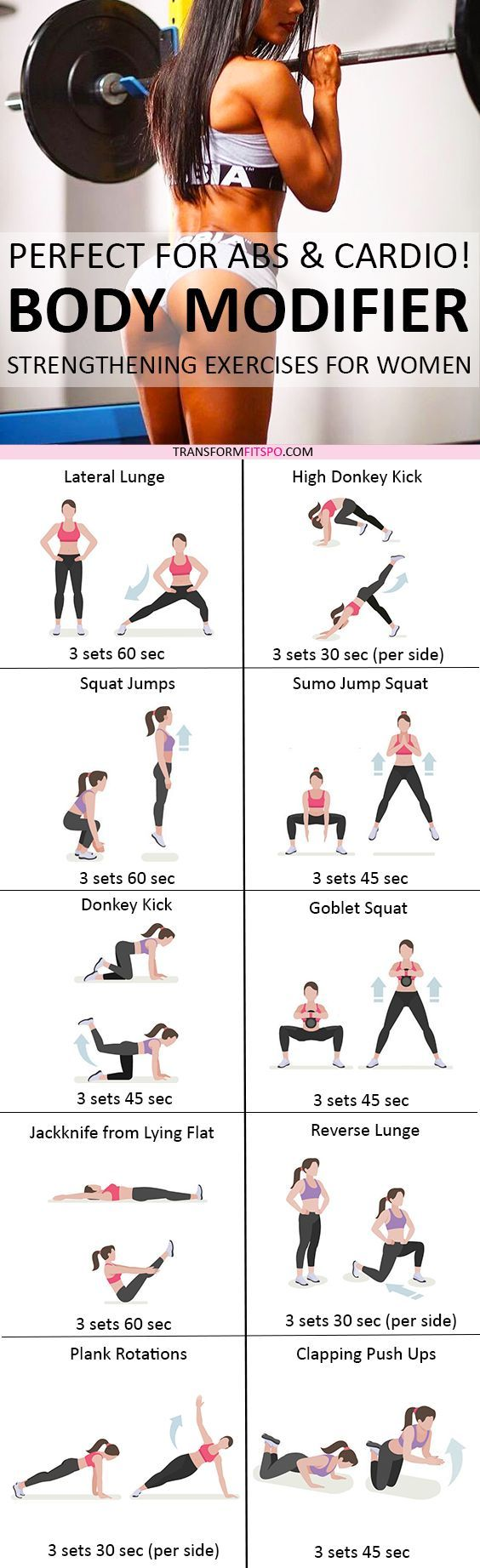 Repin if this hardcore workout transformed your body in rapid time! Read the post for all the information!