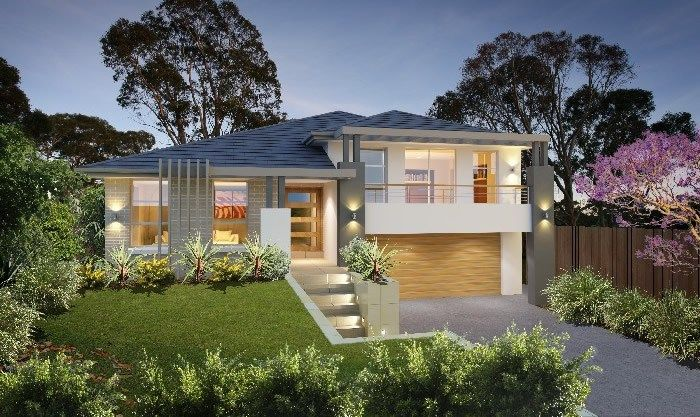 Masterton home designs bronte timeless rhs facade for Timeless home design