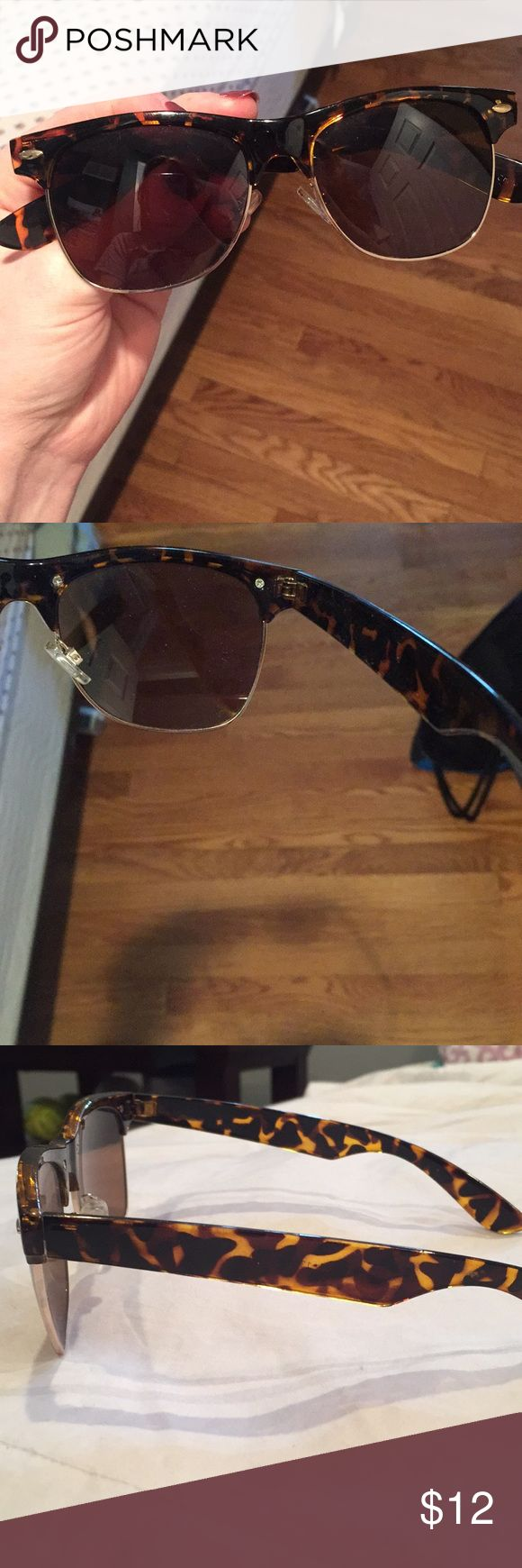 Nordstrom BP tortoise sunglasses Only worn once or twice. Shape is comparable to Ray ban wayfarer. bp Accessories Sunglasses