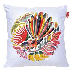 Beautiful Tofutree Fantail Cushion