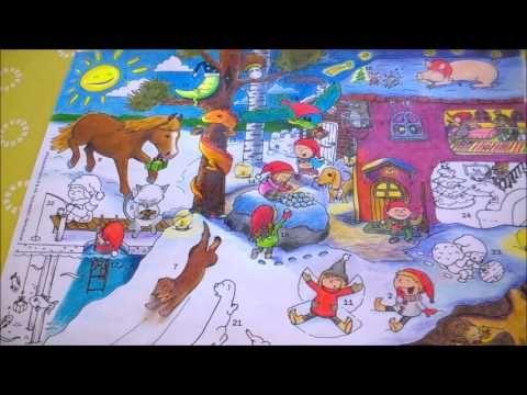 Tarinatädin joulukalenterivärityskuva – 20. luukku – ELINAP